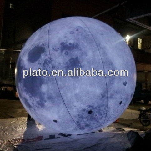 high quality products: giant inflatable planet/earth/star balloons with led build inside