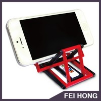 Promotion folding custom color nylon mobile phone stand
