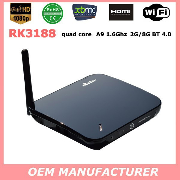 CS968 android tv box rk3188 hd digital cable tv set top box hdmi digital tv set top box full 1080P video arabic channels