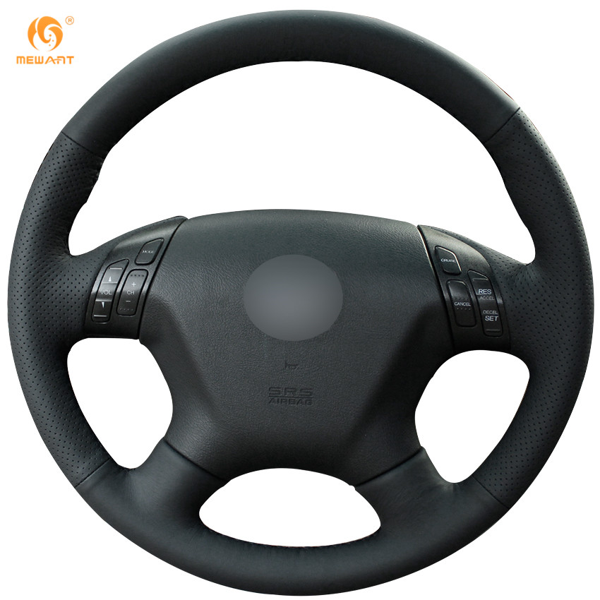 Fashionable Hand-sewn Leather Steering Wheel Cover for Honda Accord 7 2004 2005 2006 2007