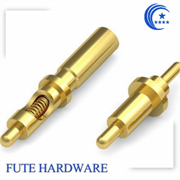 Brass Spring Loaded Pogo Pin Contact Test Probe Pin