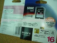 SONY SDHC SD 16GB CLASS 10 High Speed Memory Card