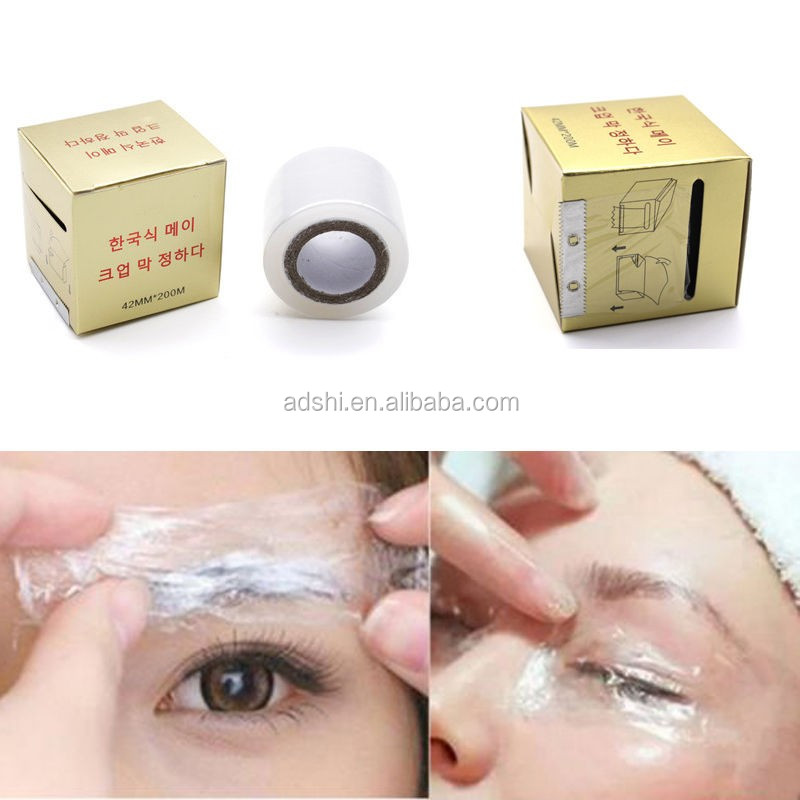 Plastic Wrap Film for Permanent Makeup Supply Eyebrow Eyeliner Lip Tattoo