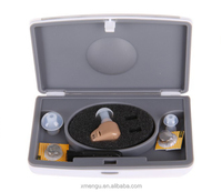 Invisible In Ear Digital Hearing Aid Sound Amplifiers Hearing Aid with Case