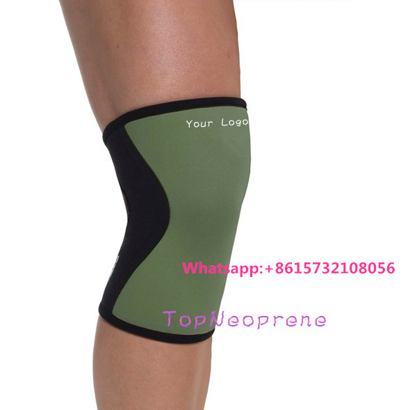 7mm Neoprene Knee Sleeve,Compression & Support for Crossfit, Weightlifting, Powerlifting, Running, Basketball ~ Both Men & Women