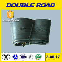 wholesale Shandong factory motorcycle butyl inner tube 300-17 3.00-17