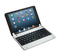 Aluminum Bluetooth Keyboard Cover Case For Apple iPad Mini