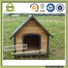 Apex Roof Outdoor Wooden Dog Kennels