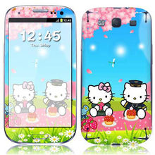 2014 Fashionable! Carton design phone skin sticker for SAMS3 i9300 wholesales