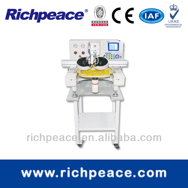 Ultrasonic Heat Hot-Fix Machine, Richpeace Computerized Single Head Rhinestone Machine