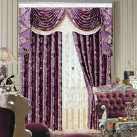 2016 Readymade Curtain with Matching Sheer