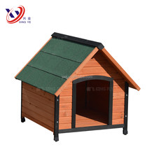 Pyramid Roof Rubber Feet Wooden Dog Kennel Designs