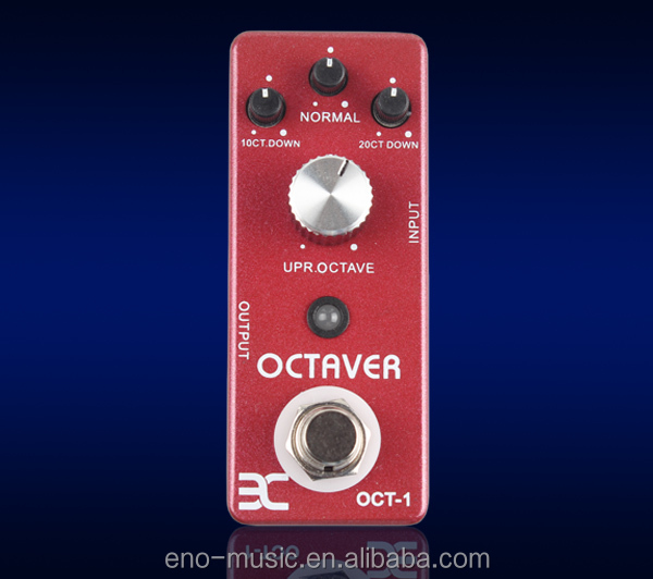 TC-01 OCTAVER MINI EFFECTS PEDAL