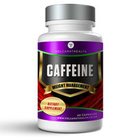 Caffeine Capsules Energy Diet Pills In