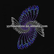 Geometrical pattern rhinestone transfer motif design wholesale