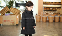 New Fashion Sweet Girls Winter 80% Duck Down Jacket Children Winter Coat Factory Kids Cheap Clothes in China