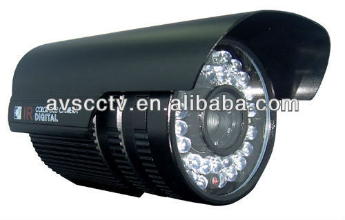 Sony CCD High Focus D&N Face Detection CCTV IR Bullet Proof Camera