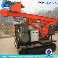 tracked pile driver Hydraulic Rotary Drilling Rig