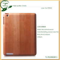 For ipad 4 Wood Case Hard Case Cover