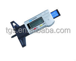 Digital trunk tire tread depth gauge