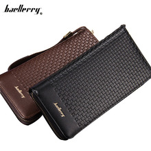 New Cell Phone Purses Men Hand Bag Clutch Baellerry <strong>Wallet</strong> Large Capacity
