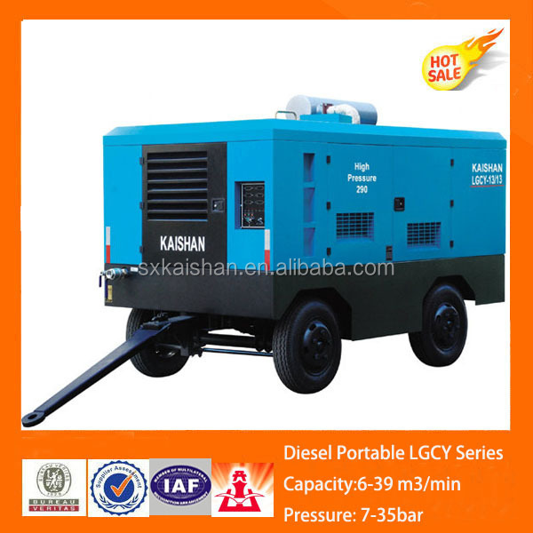 Diesel engine driven energy saving borehole compressor