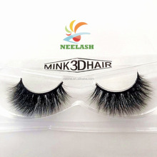 Custom packaging 3D mink fur false eyelashes
