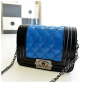 classic fashion! boy style quilted chain shoulder bag/crossbody bag