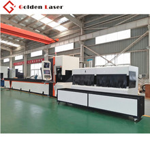 factory hot sales golden laser steel pipe tube cutting machine for tables frames