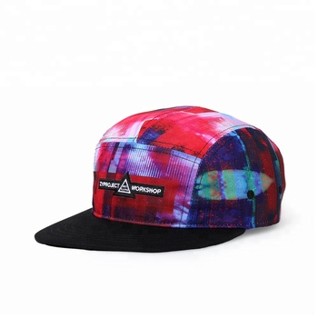 KaPin Bright Colored Small Letter Embroidered Soft Baseball Cap Flat Top Hat