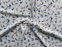 Jishengxiang print polyester fdy spandex printed jersey textiles and fabrics