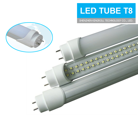 High Lumen T8 5ft LED red Tube animal 12w with Motion Sensor Approved by CE RoHS