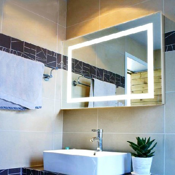bathroom led cabinet lighted vanity mirror with light