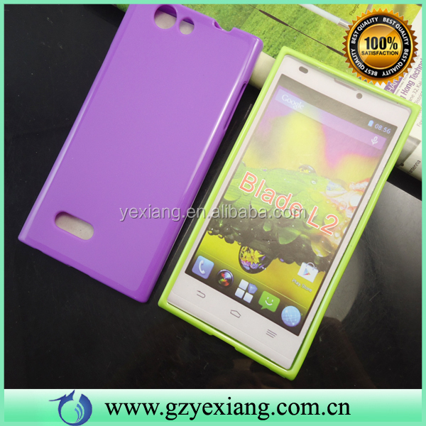 Soft TPU Back Cover Case For ZTE Blade L2 Mobile Phone Cover