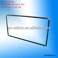 "32""42""46""47""55""60""65""70""82""84""LCD TV touch screen, Infrared IR Touch Screen For LCD/LED monitor"