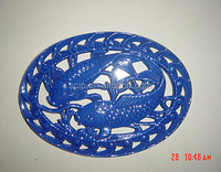 hot sale fish shapes cast iron trivet, cast iron mat for table decoration ,cast iron trivet pot holder