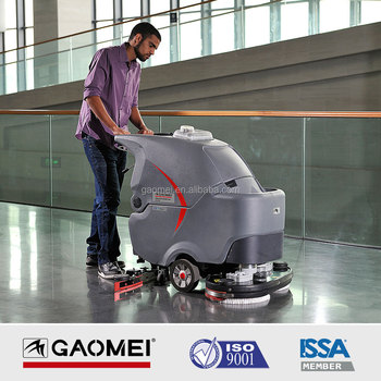 GAOMEI GM85BT Certified Automatic Floor Scrubber 3825SQ.M/H 2000-3000SQM
