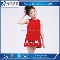 latest design softtextile baby girl party dress children frocks