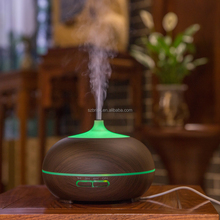 Essential Oil Diffuser 300ml Wood Grain Aromatherapy Diffuser Ultrasonic Aroma Diffuser Cool Mist Humidifier with Low Wate