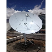 Professional 3.7m Parabolic RxTx Earth Station VSAT Satellite Dish Antenna