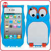 High Quality Stylish Animals Design Silicone Case for iphone 4G 4S
