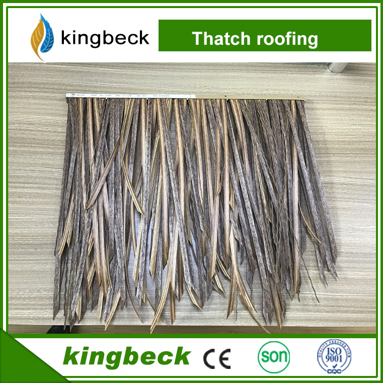 High quality Thatch tile Nano Resin material thatch roofing tiles