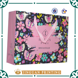 Fashion paper packaging LUXURY jewelry paper bag
