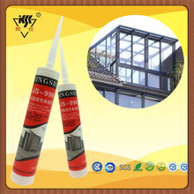 RTV 100% Acid Silicone Adhesive Sealant For Window Glass