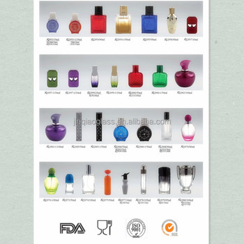 Hot selling perfume bottle with Acrylic cap