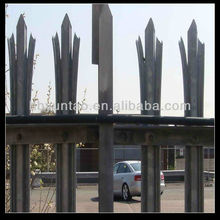 soon delivery cold rolled palisade fencing 1