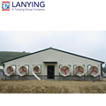 low cost nice design prefabricated poultry farm house