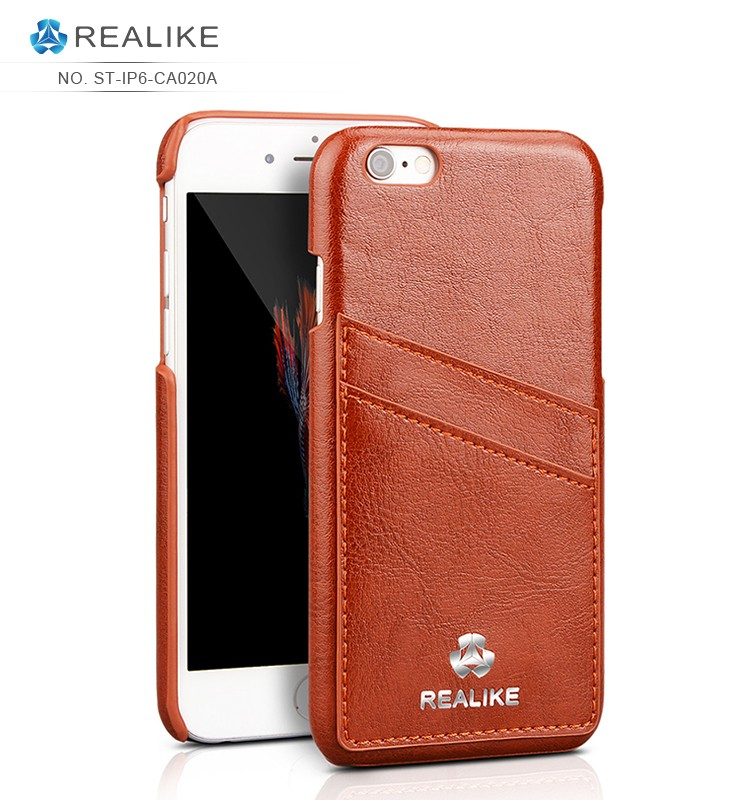 Factory multi-colors custom leather mobile phone case for iphone 6s , for iphone 6 case leather