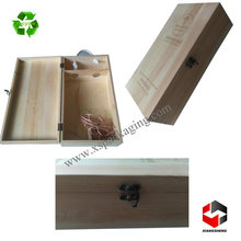 custom luxury wine wooden box