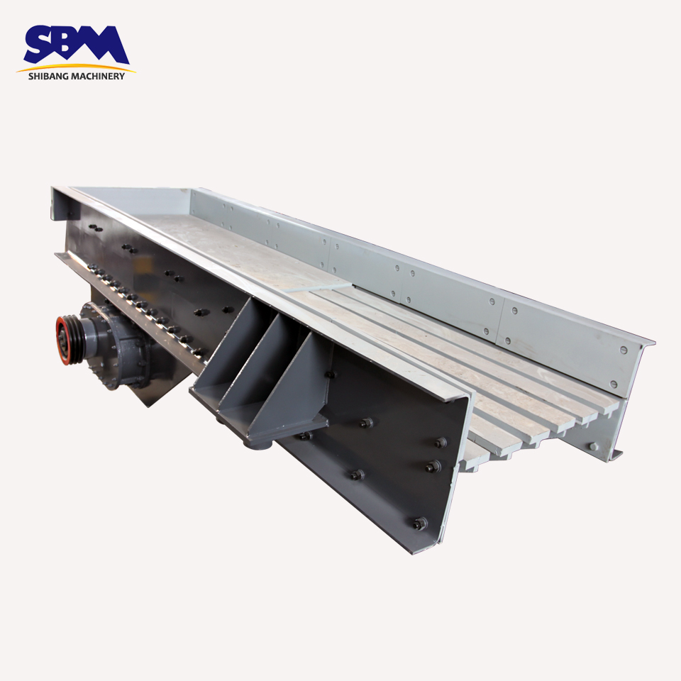 SBM High Carrying Capacity Price Electromagnetic Vibrating Feeder